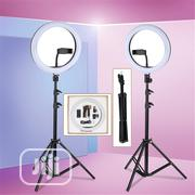 30cm LED Ring Selfie Fill-in Lighting Studio Ring Light With Tripod | Accessories & Supplies for Electronics for sale in Lagos State, Surulere