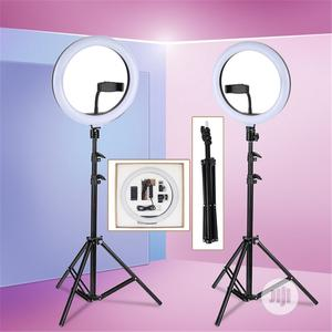 Ring Selfie Fill-In Lighting Studio Ring Light With Tripod   Stage Lighting & Effects for sale in Lagos State, Surulere