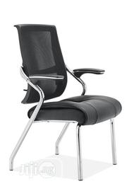 Mesh and Leather 4leg Visitor Chair | Furniture for sale in Lagos State, Ojo