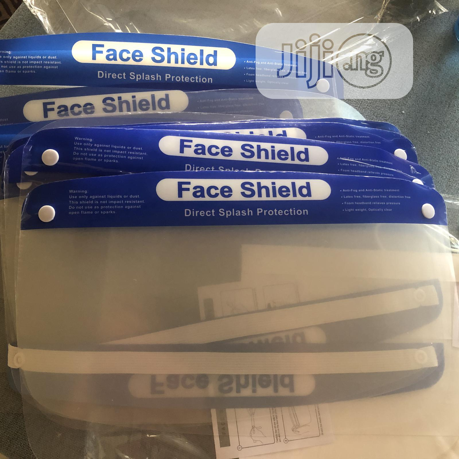 Imported Face Shield Anti Fog | Safety Equipment for sale in Ikeja, Lagos State, Nigeria