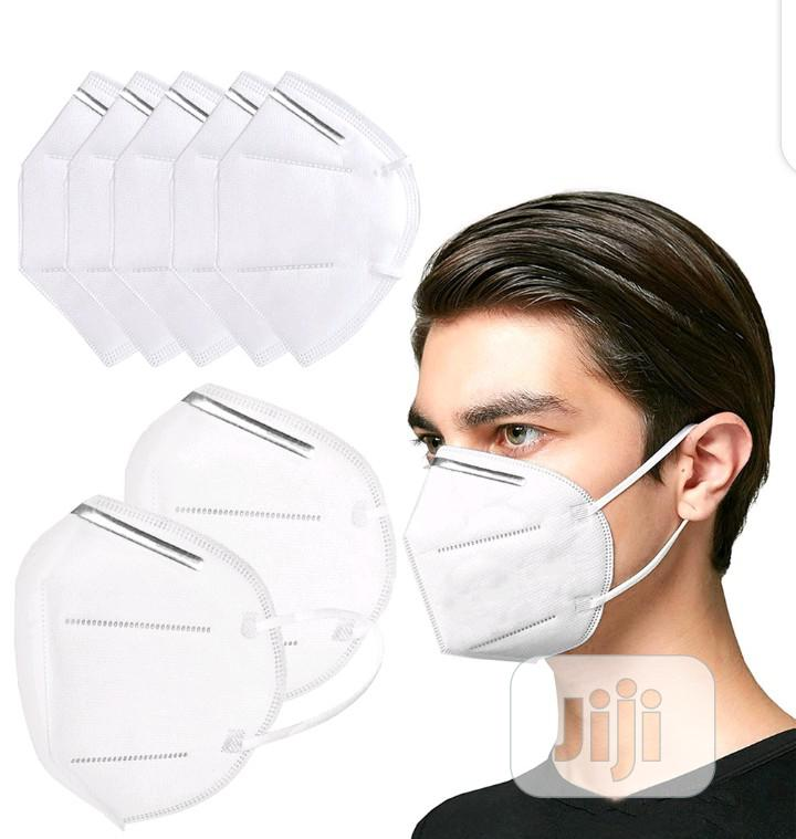 Original N95 (KN95) Grade A Face / Nose Respirator Mask. | Safety Equipment for sale in Ilupeju, Lagos State, Nigeria