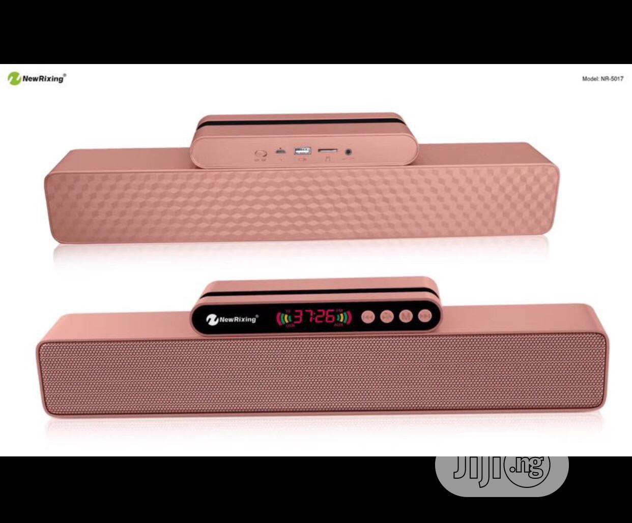 New Rixing NR-5017 TWS Connection Soudbar Wireless Bluetooth Speaker | Audio & Music Equipment for sale in Ikeja, Lagos State, Nigeria