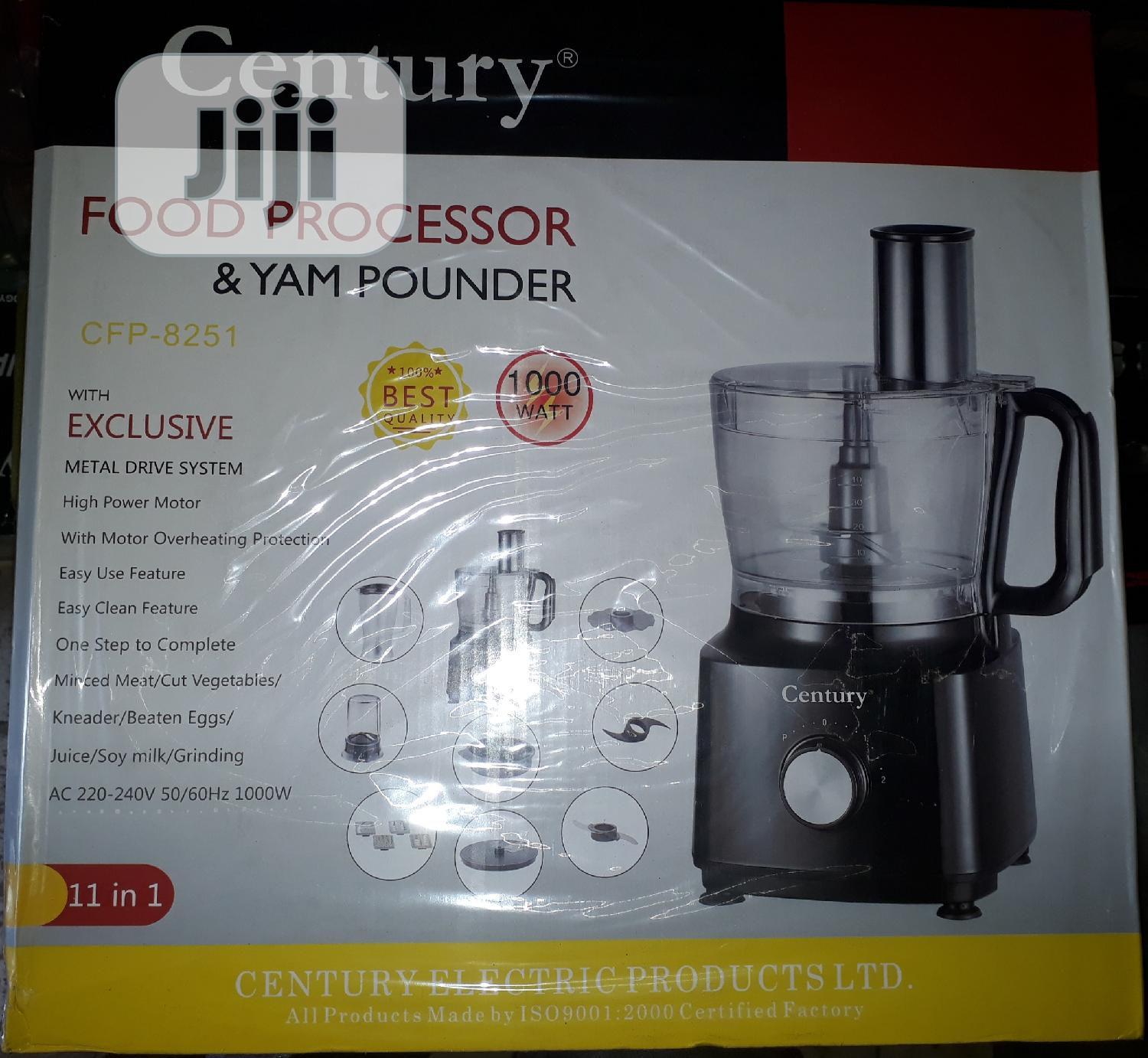 Century Food Processor & Yam Pounder