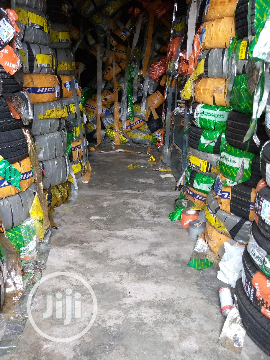 Motor Tyres And Battery