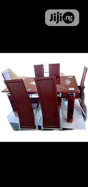 Padded Dining Table by Six   Furniture for sale in Lagos State, Ikoyi