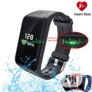Heart Rate Monitoring Fitness Tracker | Smart Watches & Trackers for sale in Lagos State, Ikeja