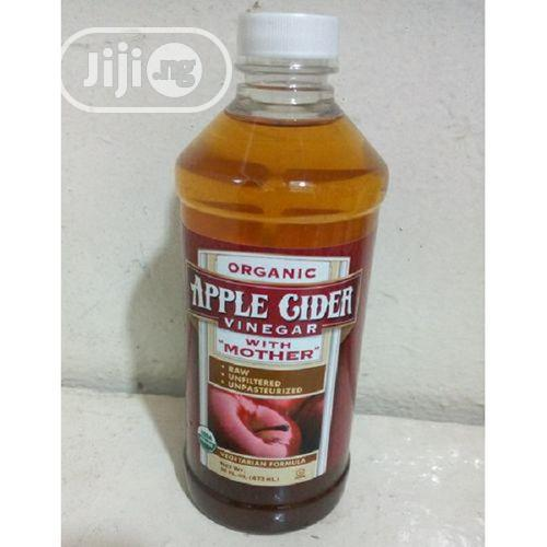 Organic Apple Cider Vinegar With Mother 16FL.OZ. ( 473ML)
