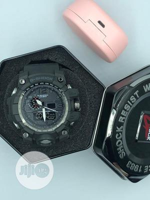 G Shock Watch With Shock And Water Resist Feature   Watches for sale in Lagos State, Ojo