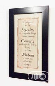 Inspirational Wall Frame | Home Accessories for sale in Lagos State, Ibeju