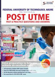 Unilorin Post UTME Past Questions/Answers | Books & Games for sale in Lagos State, Oshodi-Isolo