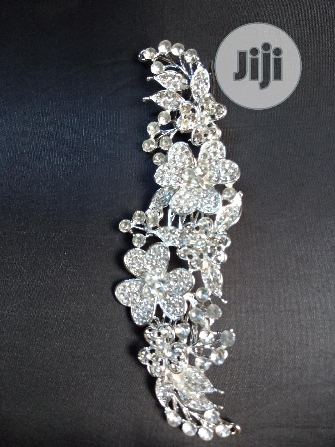 Beautiful Bridal Hairband | Wedding Wear & Accessories for sale in Wuse, Abuja (FCT) State, Nigeria