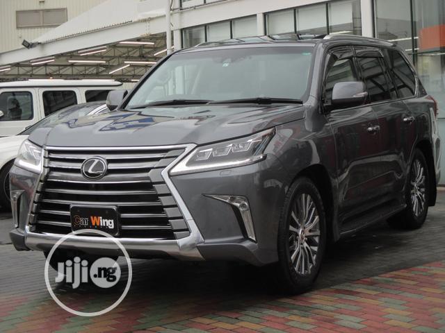 New Lexus LX 570 2019 Black