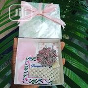Silver Gift Box With Pink Brooch And Beaded Hair Clip | Arts & Crafts for sale in Lagos State, Agege