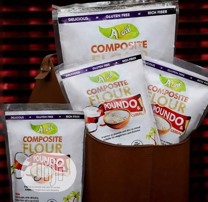 100% Organic Coconut Poundo (Swallow) 500g/1kg