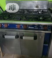 Industrial Gas Cooker 6 Burners With Oven - London Used | Restaurant & Catering Equipment for sale in Lagos State, Ojo