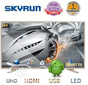 "Skyrun 43"" LED- FHD TV With Wall Bracket - Black 