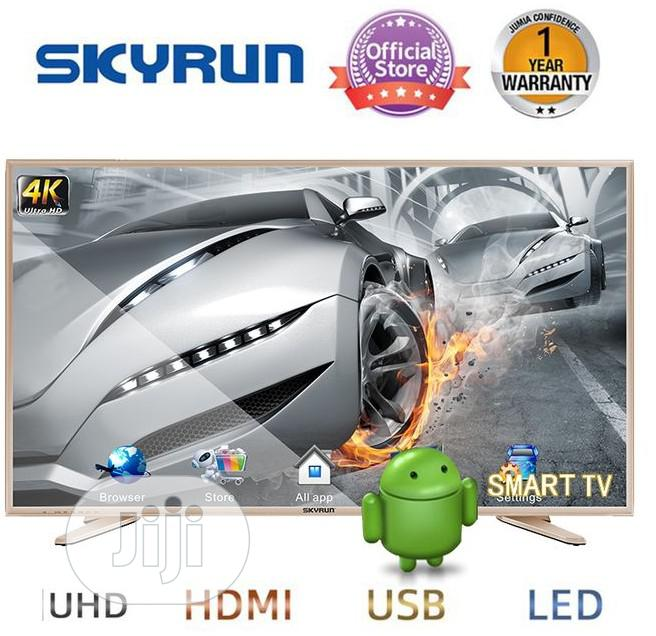 "Skyrun 43"" LED- FHD TV With Wall Bracket - Black"