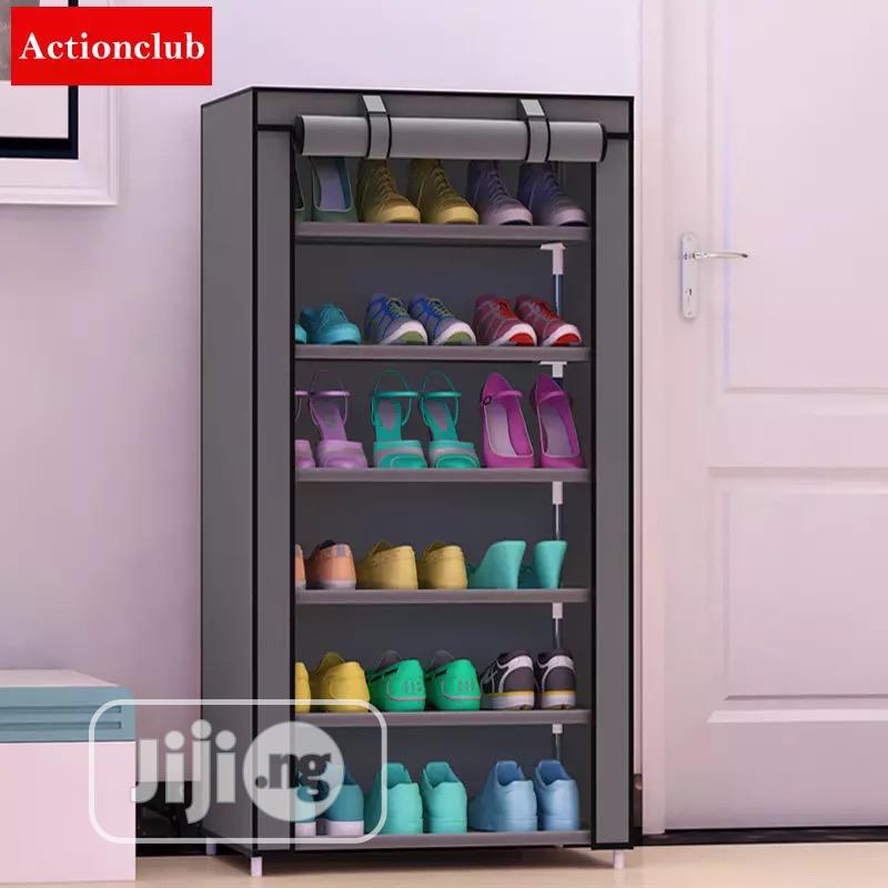 6 Layers Shoe Rack Cabinet