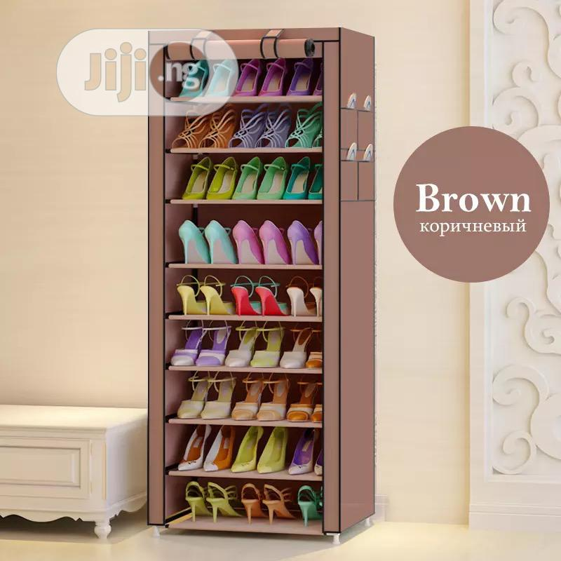 9 Layers Shoe Rack Cabinet