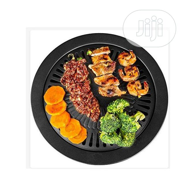 Kitchen + Home Stove Top Smokeless Stainless Indoor BBQ Grill