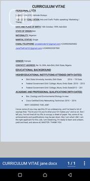 Part Time CV | Part-time & Weekend CVs for sale in Ekiti State, Ado Ekiti