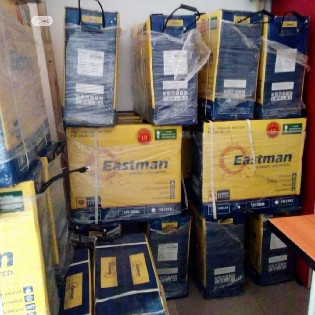 220ah 12v Solar Tubular Eastman Battery With Warranty