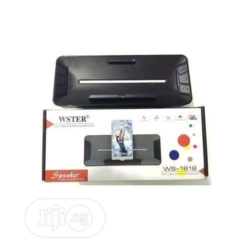 Wester 1618 Blutooth Speaker | Audio & Music Equipment for sale in Ikeja, Lagos State, Nigeria