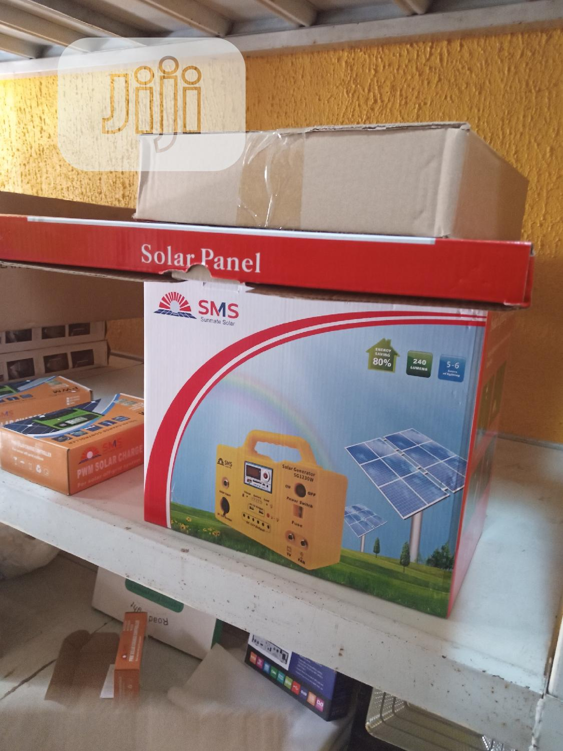 3ow Solar Generator Sms With Warranty