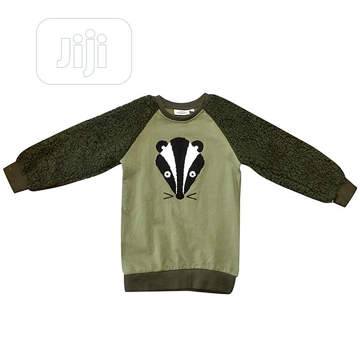 Army Green Sweatshirt for Kids  | Children's Clothing for sale in Ajah, Lagos State, Nigeria