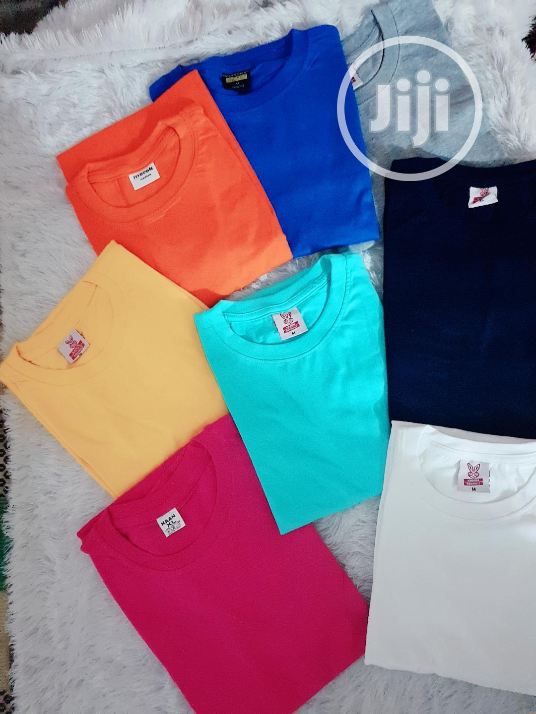 Plain Tees   Clothing for sale in Magodo, Lagos State, Nigeria