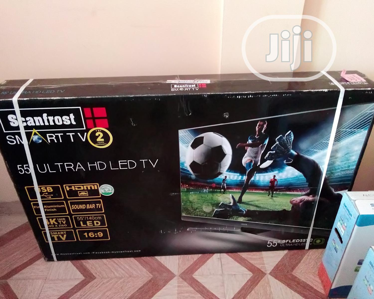 55 Inches Scanfrost Smart Tv