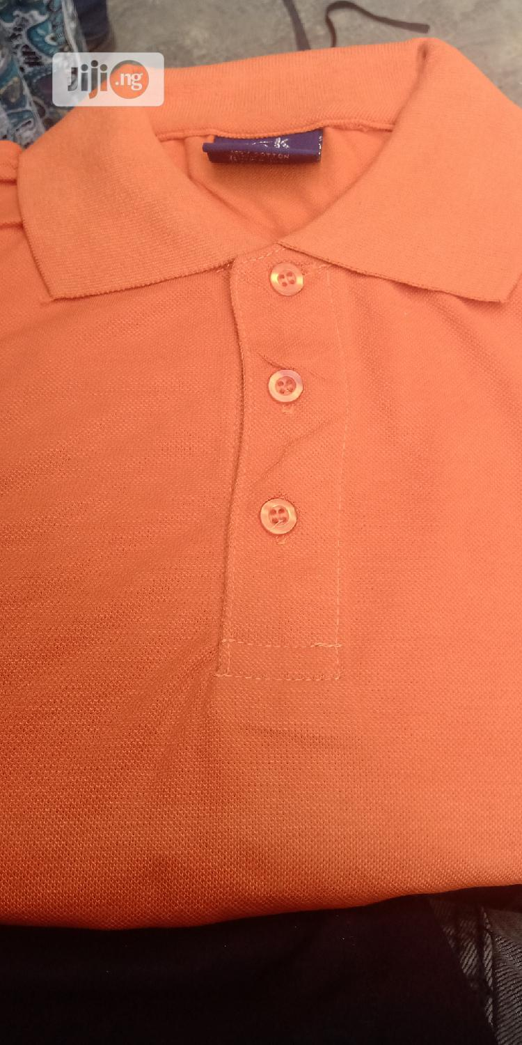 Quality Plain T-shirt Polo | Clothing for sale in Ajah, Lagos State, Nigeria