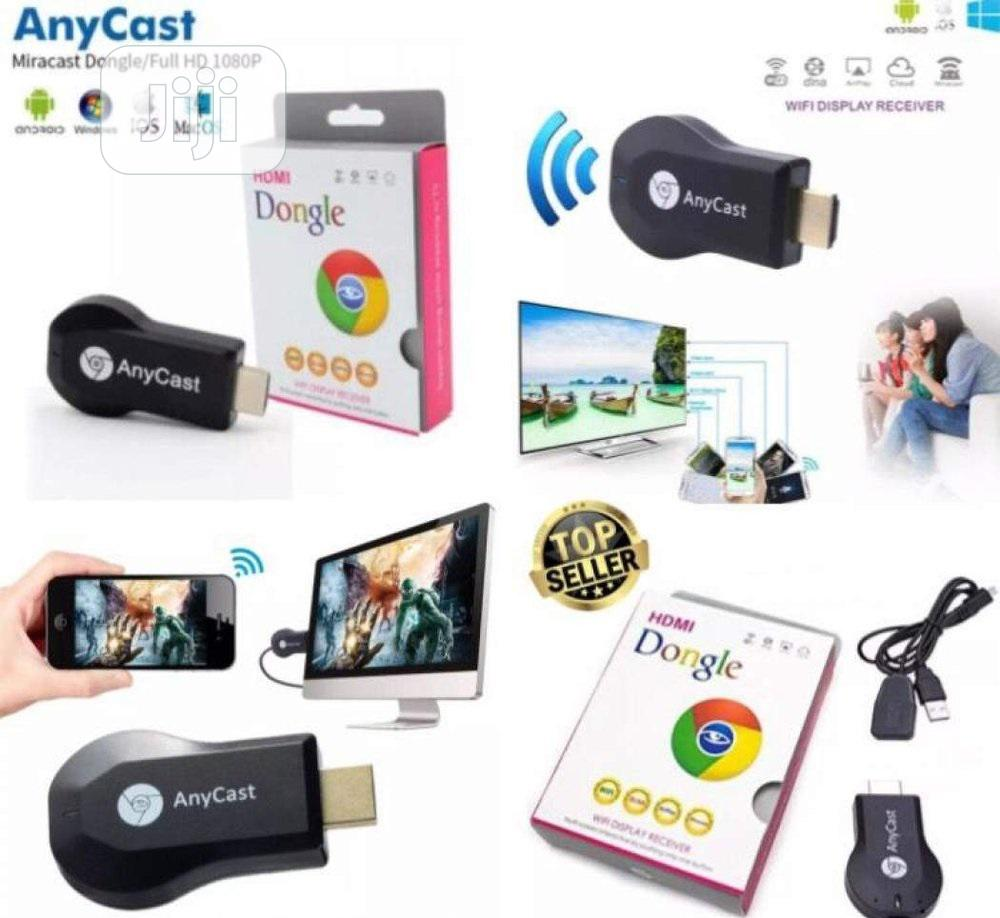 Chromecast HDMI Wifi Display Receiver TV Dongle | Accessories & Supplies for Electronics for sale in Ikeja, Lagos State, Nigeria