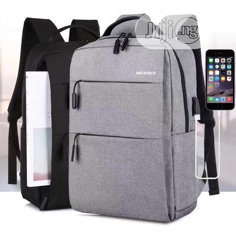 Smart Laptop Backpack With USB Port