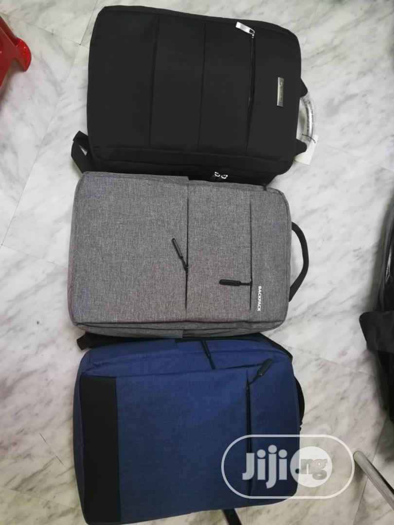 Smart Laptop Backpack With USB Port | Bags for sale in Ikeja, Lagos State, Nigeria