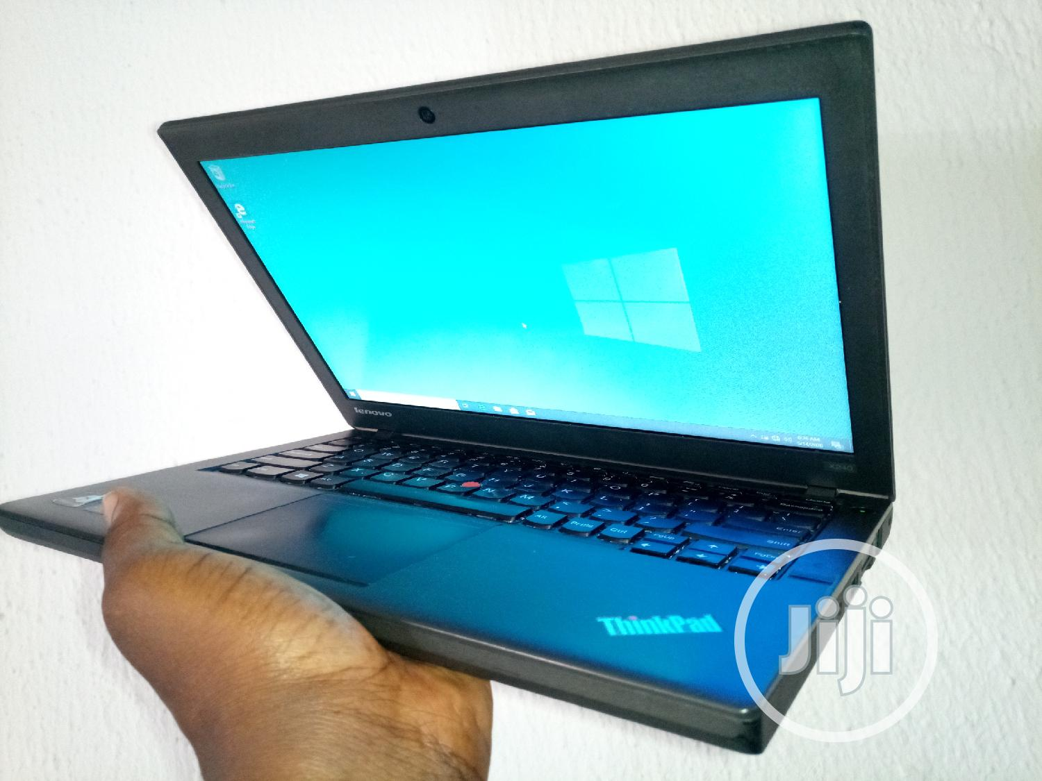 Laptop Lenovo ThinkPad X240 4GB Intel Core I5 HDD 500GB | Laptops & Computers for sale in Enugu, Enugu State, Nigeria
