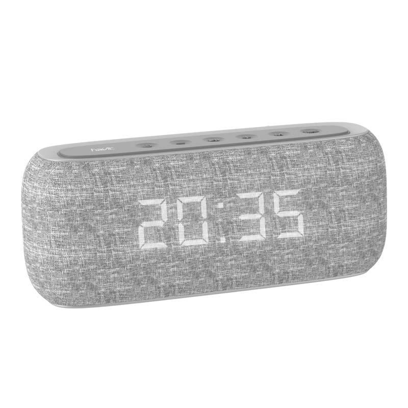 Havit Havit M29 Fabric Speaker V4.2 Bluetooth Speakers With Alarm Cloc | Audio & Music Equipment for sale in Ikeja, Lagos State, Nigeria