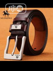 Men's Leather Belt | Clothing Accessories for sale in Lagos State, Ifako-Ijaiye