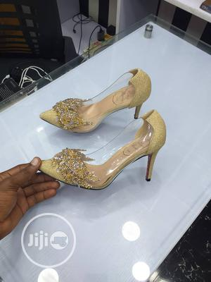 Silver And Gold Shoe | Shoes for sale in Lagos State, Ipaja