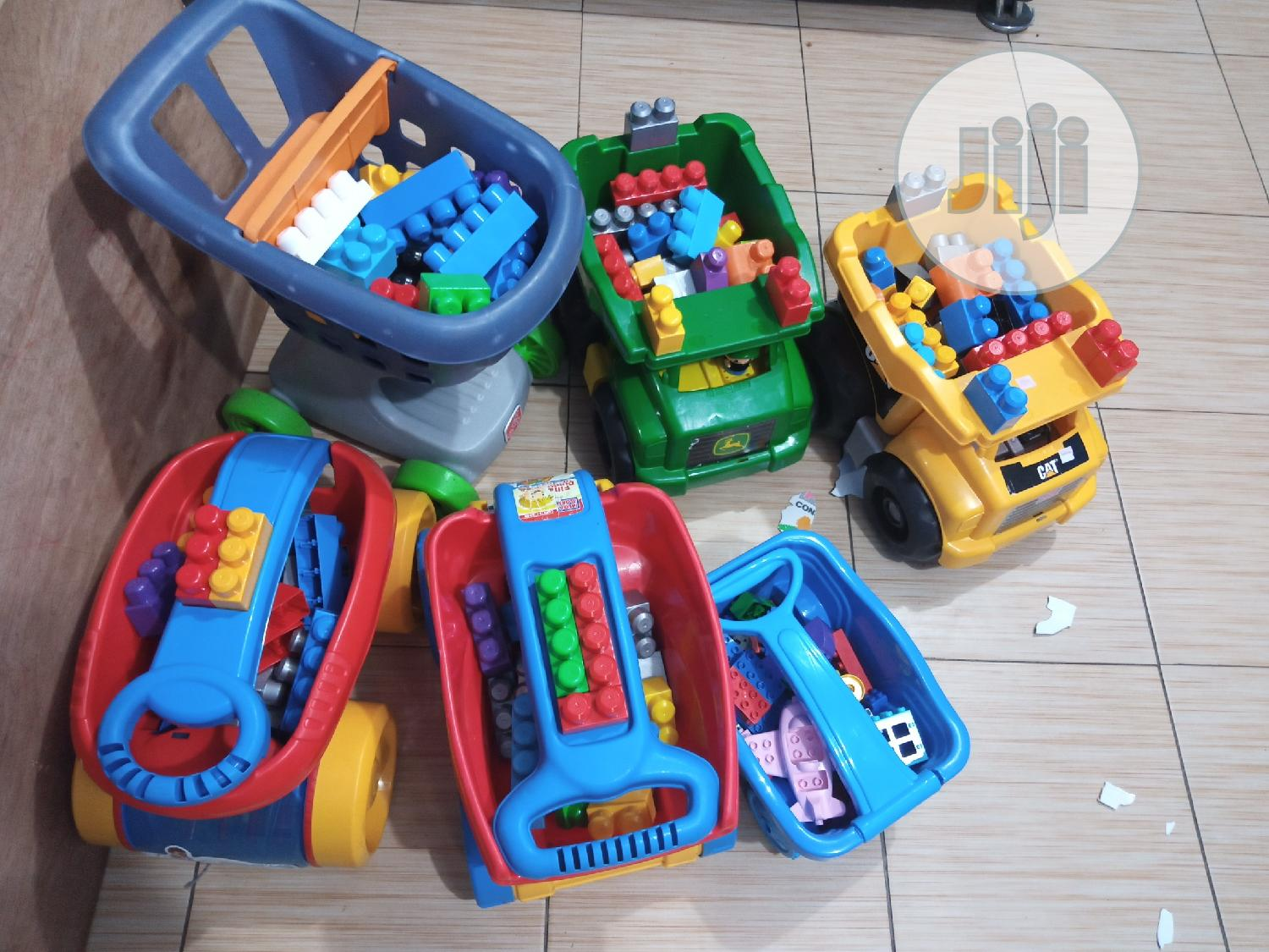 Tokunbo Uk Building Blocks | Toys for sale in Ikeja, Lagos State, Nigeria