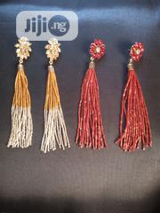 Beautiful Long Bead With Stone Earring | Jewelry for sale in Abuja (FCT) State, Wuse