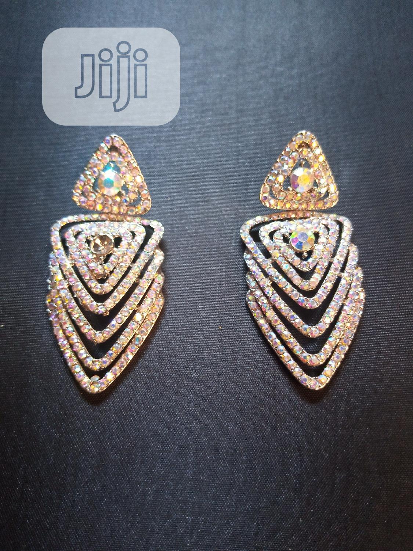 Archive: Beautiful Cristal Stone Earring