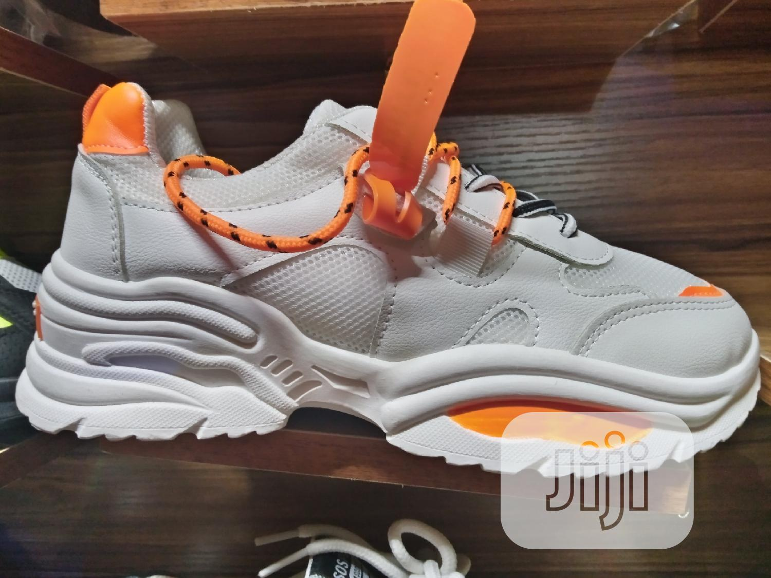 Double Lace Fashion Sneakers