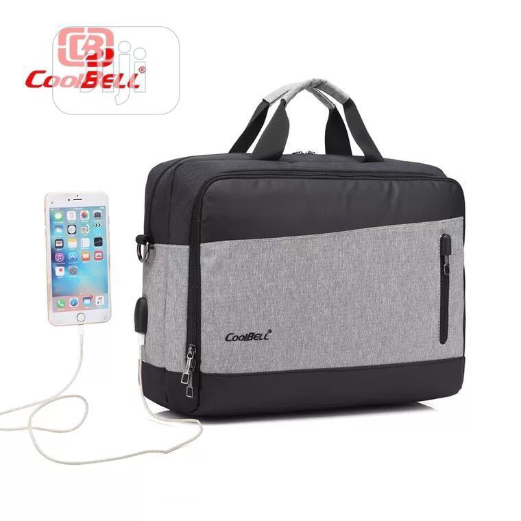 "Coolbell 15.6"" Waterproof Business Laptop Messenger Bag"