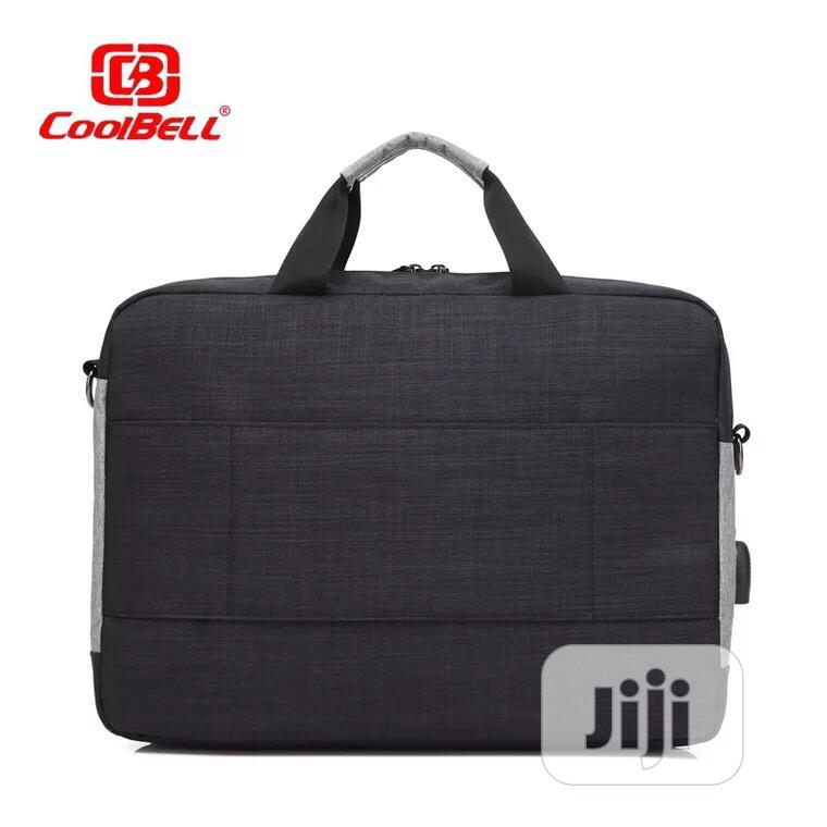 """Coolbell 15.6"""" Waterproof Business Laptop Messenger Bag 