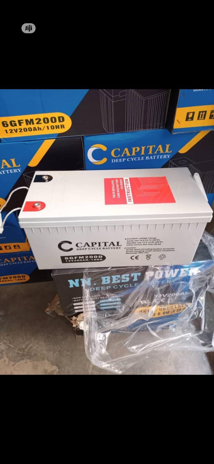 200ah CAPITAL Battery