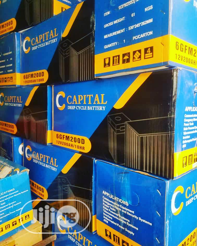 200ah CAPITAL Battery   Solar Energy for sale in Ojo, Lagos State, Nigeria