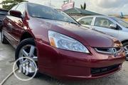 Honda Accord Sedan EX Automatic 2005 | Cars for sale in Lagos State, Ojodu