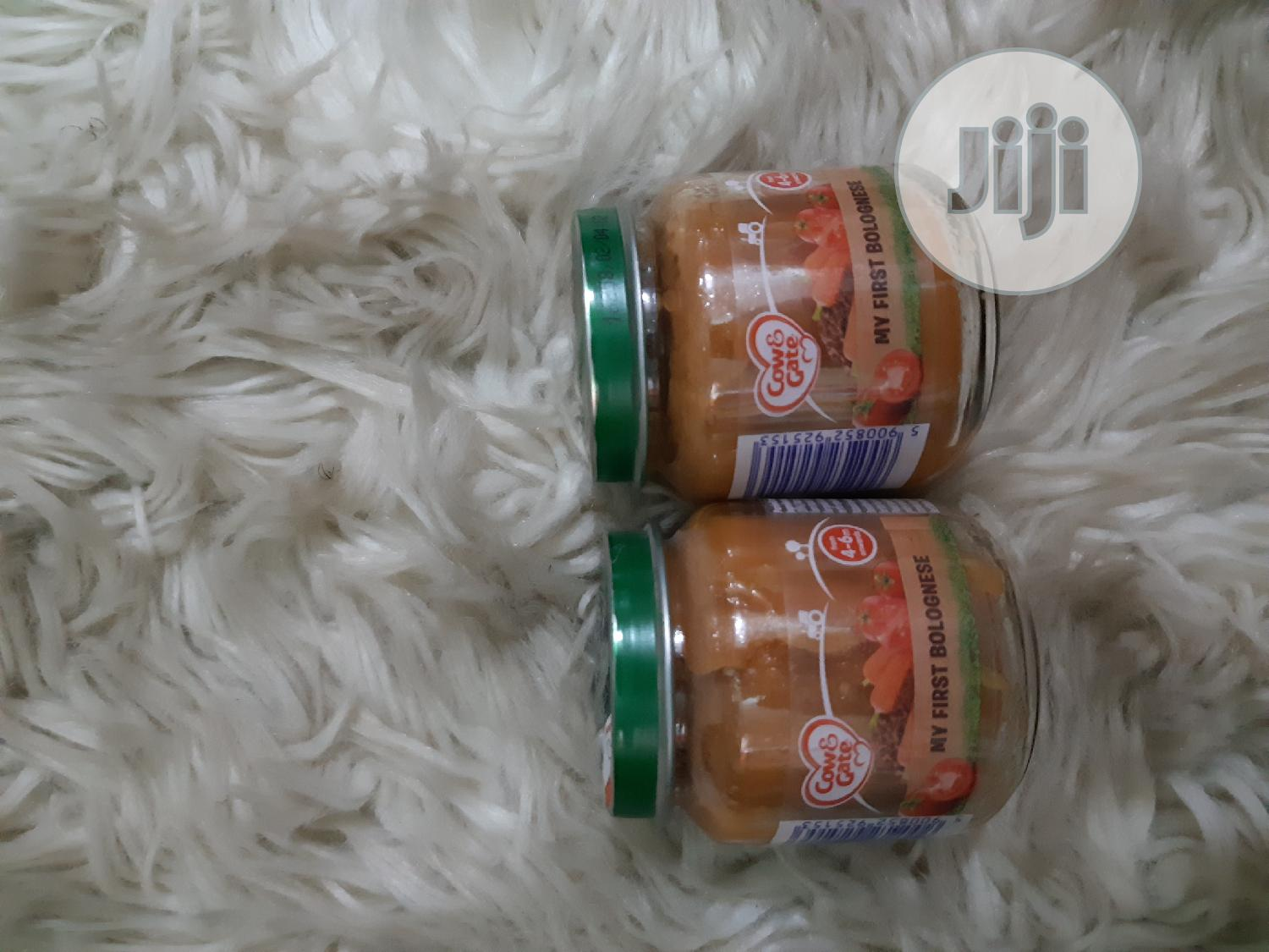 Archive: Cow&Gate Bottle Food