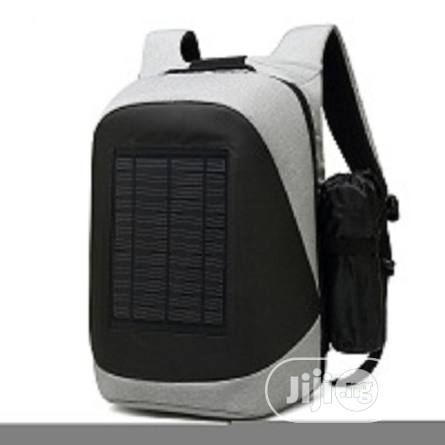 15.6 Inches Coolbell Backpack With Solar Panel And Usb